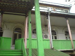 Tbilisis. Green Stairs hostelis